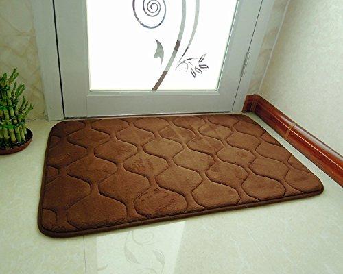 GRENSS 50 * 120CM (19.68 * 56.67 in) Küche Slip Wolldecke Modern Teppich für die Küche etage Memory Foam Teppich, 17,85 cmx160cm