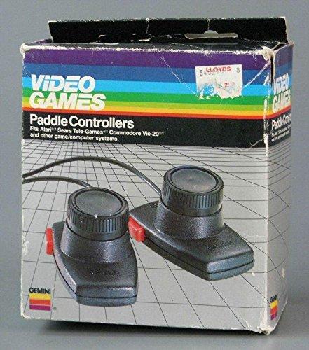 Coleco Gemini (Atari 2600) Paddle Controllers
