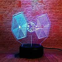 3D Led Night Light 7 Colored Gradient Force Figure Visual Festival Party Favor Gifts