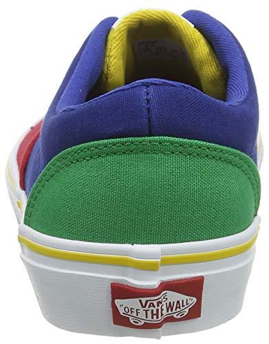 Vans Doheny, Sneaker Unisex per Bambini, Multicolore ((Color Block) Multi WJ0), 34 EU