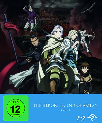 The Heroic Legend of Arslan  (Ep. 1-13)  Vol. 1 - Limited Premium Edition [Blu-ray] [Limited Edition]