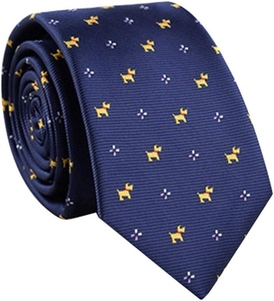 Stoota Plaid Tie for Men, Patterned Silk Tie and Pocket Square Cufflinks Tie Clip Set Wedding Business
