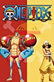 One Piece Notebook: One Piece Glossy Cover Wide Ruled Blank Lined Soft Cover Journal Paper 6 x 9 Inches 110 Pages