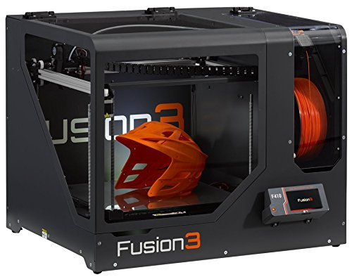Fusion3 F410 (2019) High-Performance, Enclosed 3D Printer, Single Extruder (.4MM Nozzle), 2 Yr...