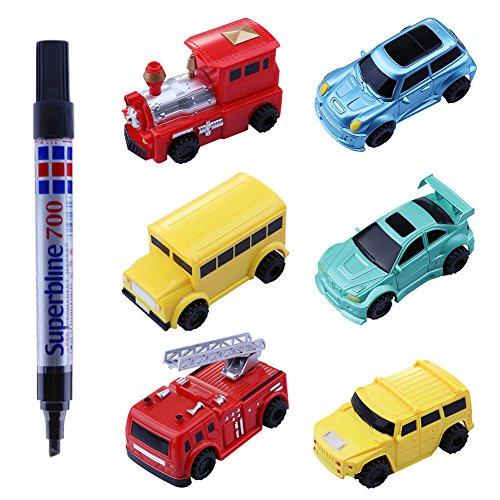 classement un comparer Rakabina Kids Toy Mini voiture guidée avec suivi automatique Vous créez une voiture innovante…