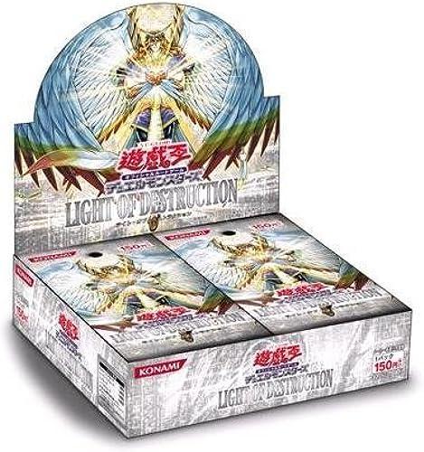 Yugioh OCG Duel Monsters Wright of Destruction [30pack] LIGHT OF DESTRUCTION   LODT