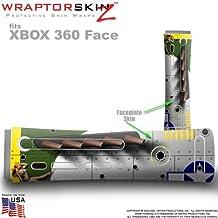 WWII Bomber War Plane Skin by WraptorSkinz TM fits Original XBOX 360 Factory Faceplates