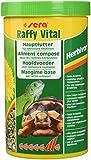 sera Raffy Vital ist das Hauptfutter aus schonend hergestellten Sticks & Kräuter-Tabletten für Landschildkröten und alle anderen herbivoren Reptilien
