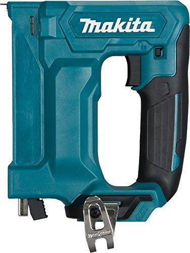 Makita Werkzeug GmbH ST113DZ Tacker 10,8 V (ohne Akku, ohne Ladegerät), 10.8 W, 10.8 V, Petrol, 3 Stück