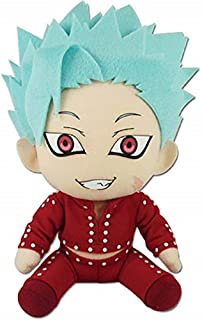 The Seven Deadly Sins Seven Deadly Sins 7'' Plush - Ban Sitting, Multicolor