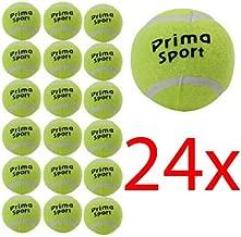 BARGAINS-GALORE 24 X TENNIS BALLS SPORT PLAY CRICKET DOG TOY BALL OUTDOOR FUN BEACH LEISURE NEW