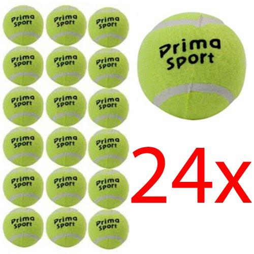 BARGAINS GALORE 24 X TENNIS BALLS SPORT PLAY CRICKET DOG TOY BALL OUTDOOR FUN BEACH LEISURE NEW