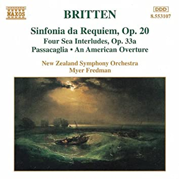 BRITTEN: Sinfonia da Requiem, Op. 20 / 4 Sea Interludes