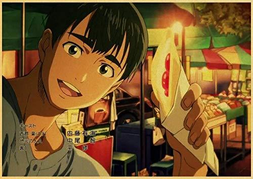 LDTSWES Houten Japan Anime On Ice legpuzzels, puzzel van 500 stukjes, voor huisdecoratie puzzel zonder frame