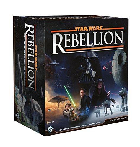 Asmodee - Star Wars Rebellion, Gioco da Tavolo, Edizione in Italiano, 9090
