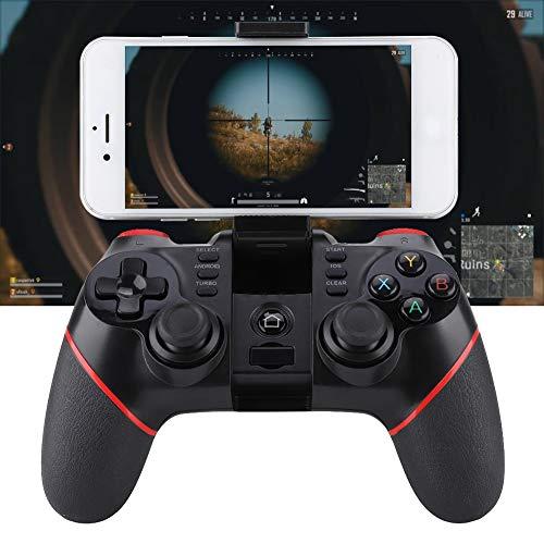 Socobeta Fácil de usar alta sensibilidad Gamepad T6 Bluetooth inalámbrico adecuado para teléfono inteligente/tableta/Smart TV