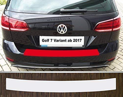 passgenau für VW Golf 7 Variant, ab 2017 Lackschutzfolie Ladekantenschutz transparent