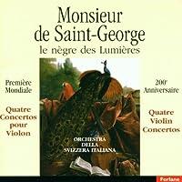 Monsieur De Saint Georges Negre De
