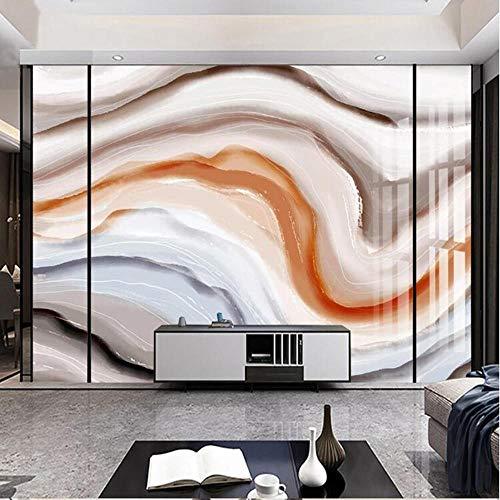 3D vliesbehang foto vlies premium fotobehang achtergrond behang wandschilderij van abstract marmeren patroon de kleurinkt 3D groot 400*280cm #005