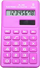 Lsgepavilion Portable Pocket 8/cifre calcolatrice elettronica mini Student School Office Supplies/ /blu