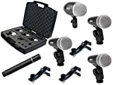 PROEL DMH5XL - Set di 5 microfoni per Batteria (Drum Set) (DMH5XL)