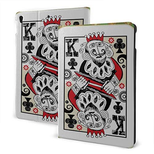 JIUCHUAN Ipad Children Protective Case 2019 Ipad Air3/2017 Ipad Pro 10.5 Inch Case/2019 Ipad 7th 10.2 Inch Case Personality Poker Cards Kids Ipad Cover Auto Wake/sleep