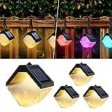 Zicbol 4 lámparas solares de pared.