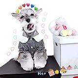 N/A Perro Mascota Ropa De Primavera Y Verano Camiseta Schnauzer para Perros Pequeños Medianos Primavera Verano Ropa para Cachorros Disfraces De Peluche Shiba Inu Bulldog Francés