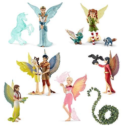 SPAR-SET 172831 - Schleich - bayala - The Movie - Charakter-Set mit 7 Elfen aus dem Film