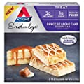 Atkins Endulge Dulce De Leche Cake Dessert Bars, 1 Box with 5-1.2oz Bars