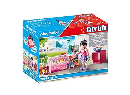 PLAYMOBIL City Life 70594 Fashion Accessoires, Für Kinder von 5 - 12 Jahren