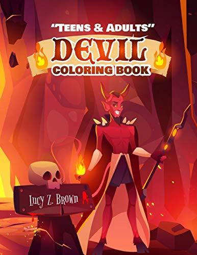 TEENS & ADULTS: DEVIL COLORING BOOK