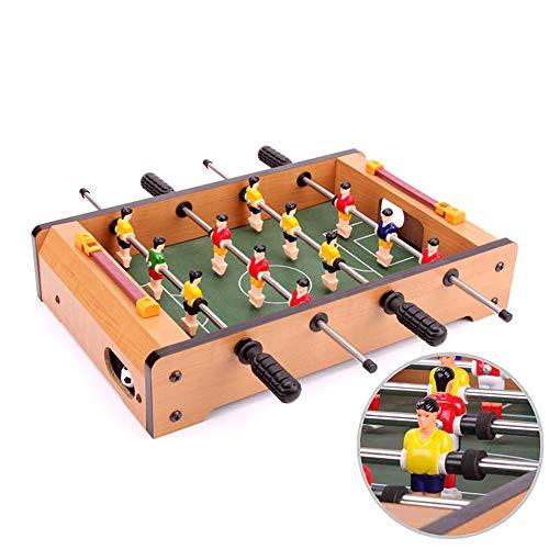 Ydq Tischkicker TischfußBall Glasgow Spielzeug Kugeln Spiel Toy Set FüR Kinder Soccer Game Mit Ball Platte FüR Die Ganze Familie Kinder Und Erwachsene, 34 X 22 X 7 cm