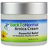Best Arnica Creams - Back To Normal Arnica Cream - New Extra Review