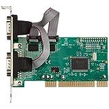 AREA RS232Cシリアルポート (外部) x2ポート増設PCIボード  ロープロファイル対応 SD-PCI9835-2SL