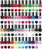 Splash 48 x Vernis à ongles Set 48 Différentes couleurs modernes séchage rapide