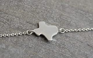 Texas State Sterling Silver Bracelet for Women