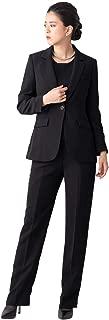 (ティセ) TISSE ブラックフォーマル 喪服 レディース パンツスーツ 大きいサイズ 【ネックレス付】 48-731124