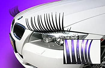 Carlashes Ombre Shaded Purple Car Eyelashes Special Edition Hand Airbrushed Candy Purple Tips Miles of Smiles