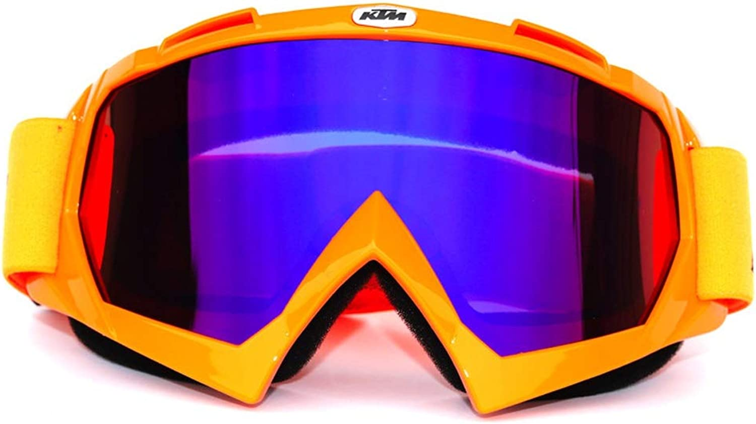 Ski Goggles Snowboard Goggles AntiFog UV Predection Helmet Compatible Snow Goggles for Unisex (color   Multicolord, Size   One Size)
