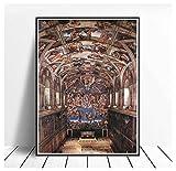 DPFRY Michelangelo Gemälde Sixtinische Kapelle Interieur