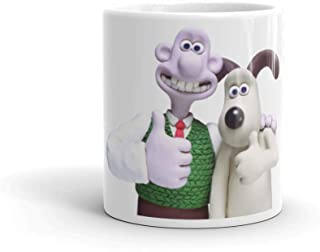 Wallace and Gromit - White Mug