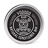 Eco Friendly Voodoo Activated Charcoal Deep Solid Conditioner Bar for Normal - Color Treated Dry Hair | Untangles and Softens Hair by Beauty and the Bees