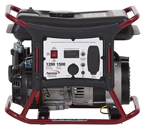 Powermate PM0141201, 1200 Running Watts/1500 Starting Watts, Gas Powered Portable Generator