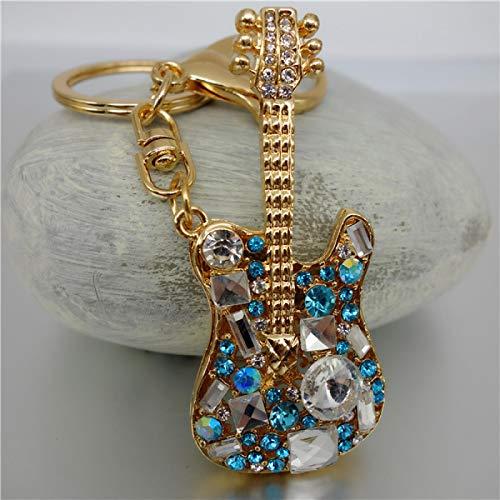 XWYZY Llavero de joyería de diamantes de imitación de cristal exquisito llavero llavero llavero bolso llavero llavero