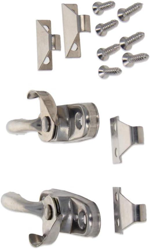 Aicosineg Max 43% OFF 1Pair Stainless Steel Spring Action Lo Window Sash Cam mart