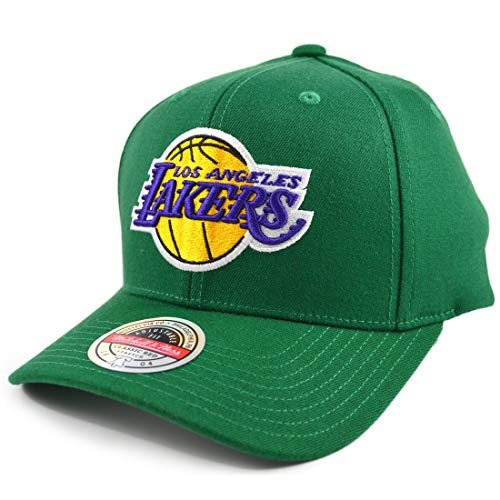 Mitchell & Ness Saint Redline LA Lakers - Gorra, color verde