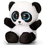 Keel Toys KEELTOYS-Peluche Animotsu Panda 25cm-SF1855, SF1855, Negro, Blanco