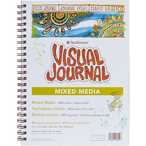 Strathmore 460-19 500 Series Visual Mixed Media Journal, Vellum, 9