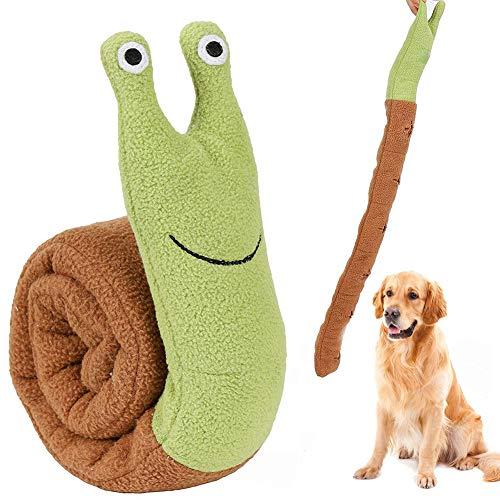 Snuffle Toy, Snuffle Feeding Mat, Cane sniffing tappeto, Giocattolo di Intelligenza, Nosework formazione lenta alimentazione, gioco interattivo giocattolo lavabile in lavatrice tappetino, Snail Shape